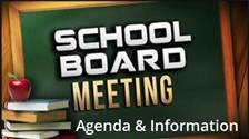 eMeeting Board Agenda & Information